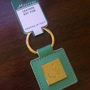 Masters Leather Keychain